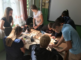 "eTwinning project ""Discovering Electricity: Nikola Tesla"""