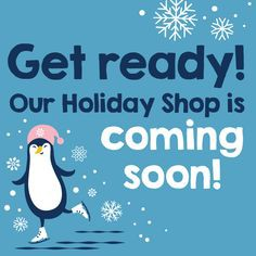 The Holiday Shop is Coming Soon!!