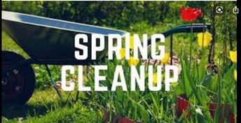 The Amerman Spring Clean-up is planned for Saturday May 1, 2021.