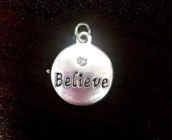 Believe charm