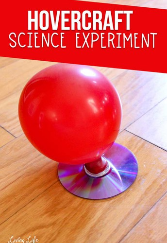 Grades 3-5: Hovercraft Experiment (Physical Science)