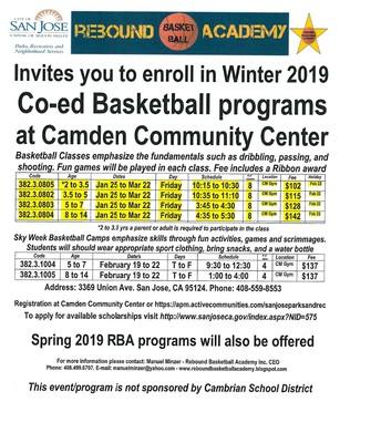 Co-ed Basketball