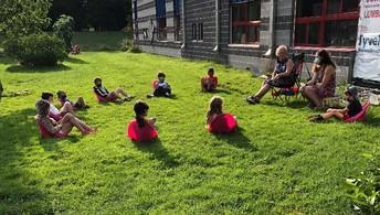 Classes outside