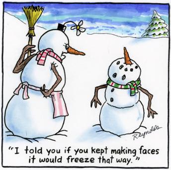 Winter Clothing Reminder