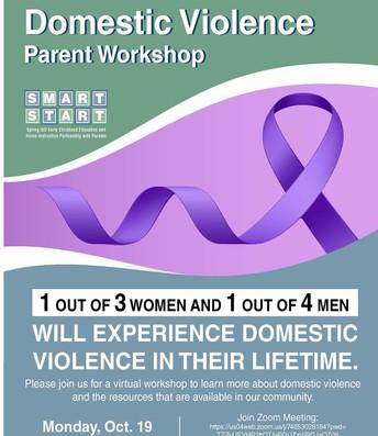 Domestic Violence Parent Workshop