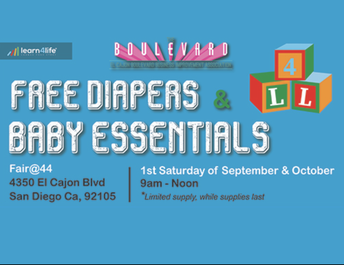 Baby Essentials – 10/3/20  9am to 12pm