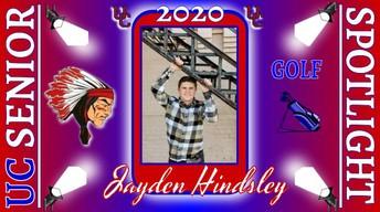 UC Class of 2020 Jayden Hindsley