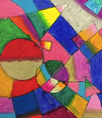 "5th grade ""Kandinsky Musical Shapes"""