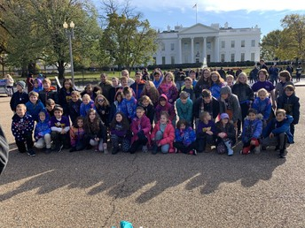 Class Picture at the White House