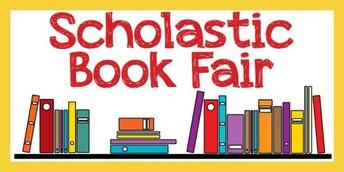 Scholastic Book Fair 8/19-8/22