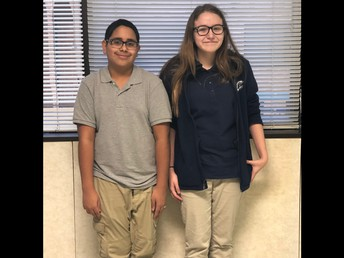 Lauren Ramos and Bryan Tejada-Euceda