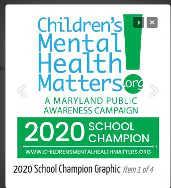 **NEW**2020 Children's Mental Health Matters Campaign