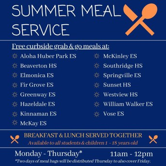 Summer Meal Services