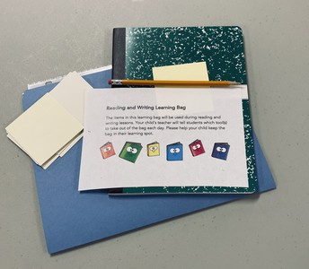 Reading and Writing Learning Bag