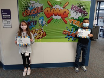 Grade 5 Miles Students of the Month