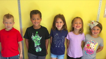 Brody, Jonah, Brielle, Piper and Ellie