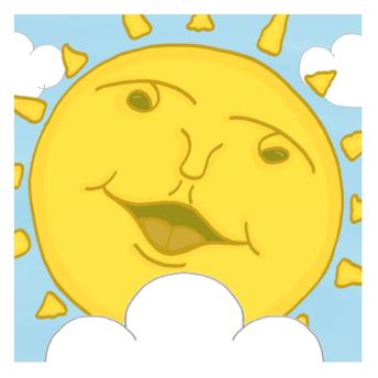 Sunshine Smiles Cartoon Pic