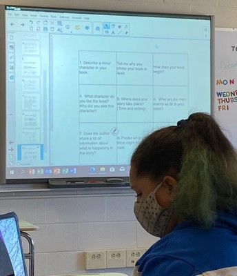 Teachers are using choice boards to help guide students while giving them an option with what to do
