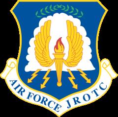 Escudo de la Fuerza Aérea JROTC