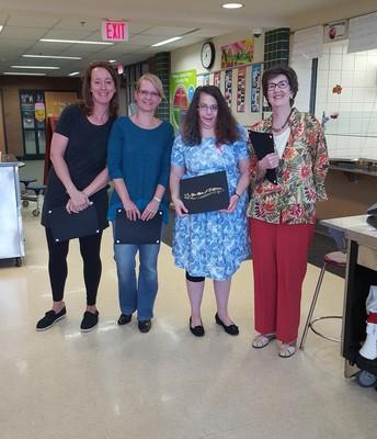 Volunteers Honored During The Volunteer Breakfast