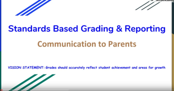 Standards Based Presentation Video