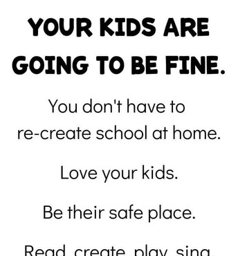 Your kids are going to be fine