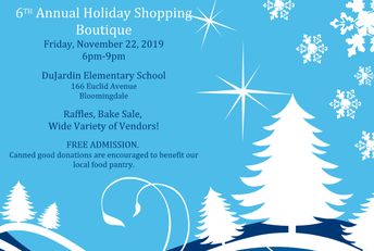 Holiday Shopping TONIGHT at DuJardin School