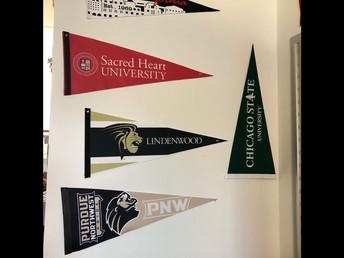 College Representatives (Virtually) Visiting Sandburg