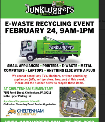 E-Wast Recycling Event @ CES
