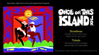 Playing TONIGHT: Once on this Island Jr.