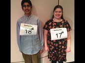 Congratulations to 1st place Jordan Burks and 3rd place Syed Aslam in the regional spelling bee