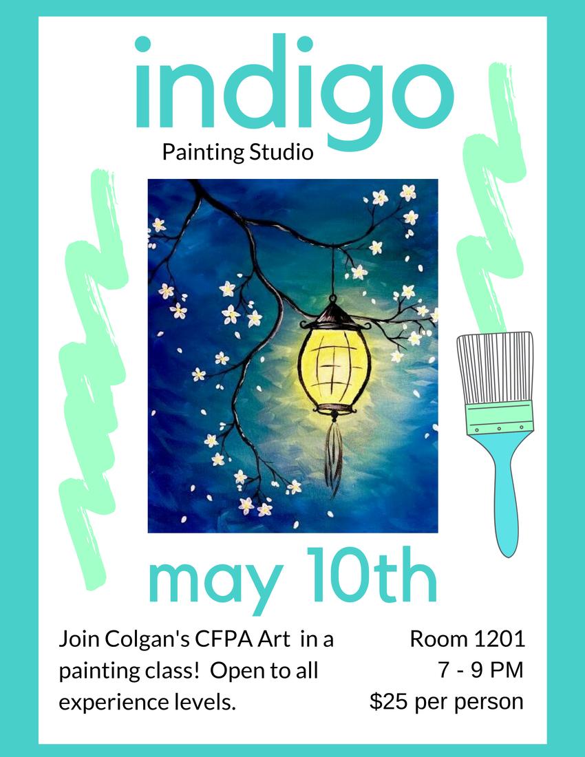 Paint night invite