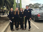 pose at State FFA Finals...