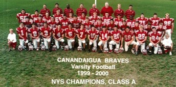 A Celebration of Braves Football - Honoring the 1999 State Champions