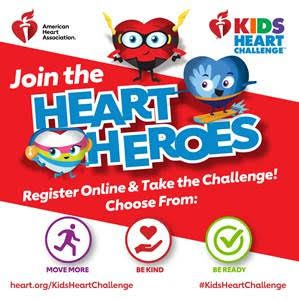 Kids Heart Challenge (Formerly Jump Rope for Heart)