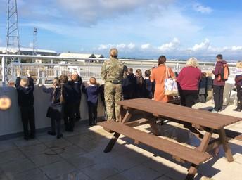 FS2 visit Akrotiri airport