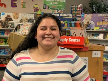 Mrs. Salinas-Library Aide