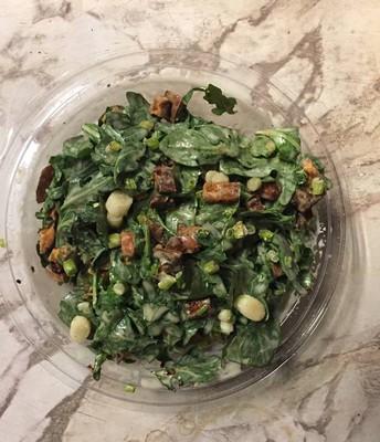 Sweet Potato and Arugula Salad (recipe by Amanda Baker)