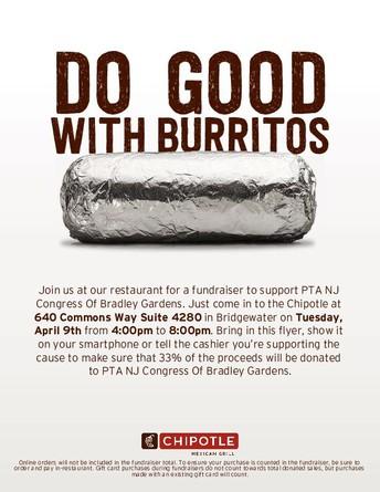 Do Good with Burritos!