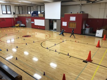 First grade obstacle course