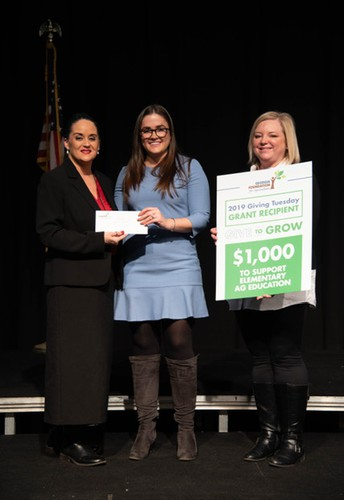 Georgia Foundation for Agriculture awards $1,000 to Heard Elementary