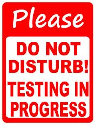 CMAS Testing Update
