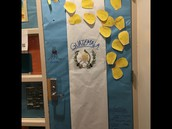 8th Grade Den Door Competition winner