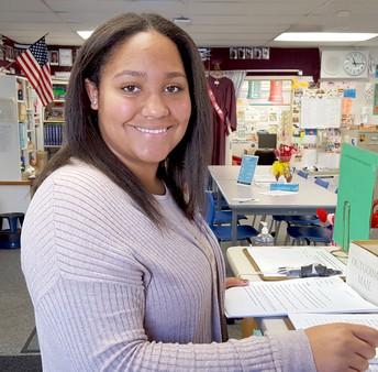 New Student Teja Burgess