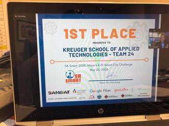 KSAT Wins Mayor's SA Smart Challenge