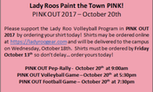 PINK OUT!!
