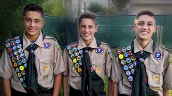 Three Brothers in Poway Unified Earn Eagle Scout Award at the Same Time