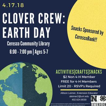 Clover Crew- April!