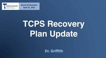 Recovery Plan Update