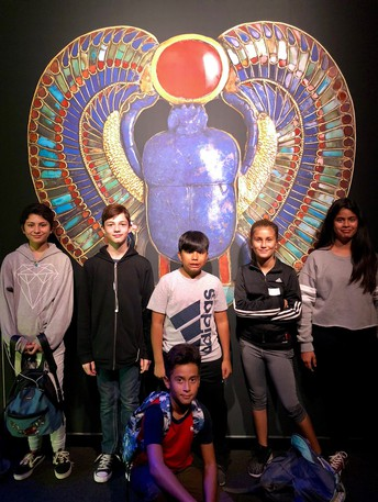 6th Grade visits the California Science Center to see King Tut